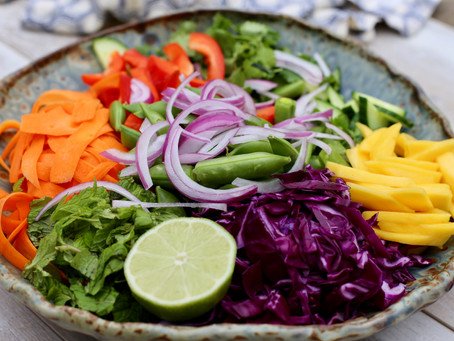 Vibrant Salad With Tangy Chili Vinaigrette