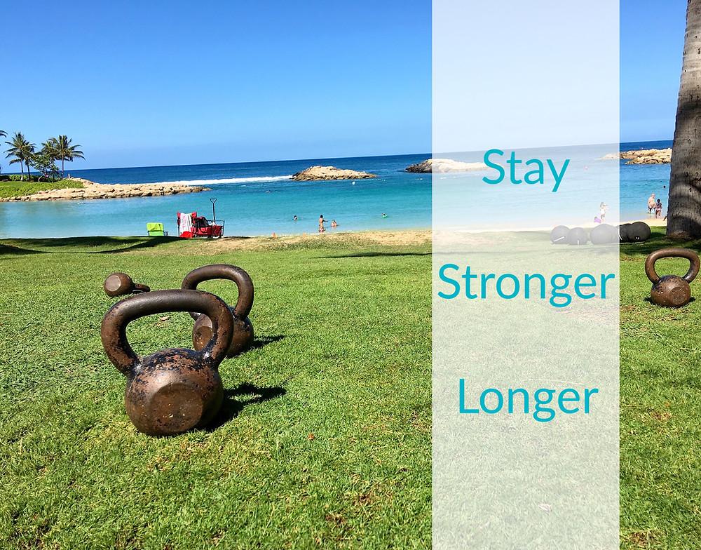 beach workout photo