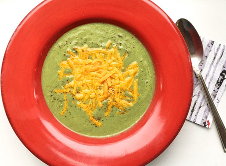 Brain Food: Vibrant Broccoli Soup