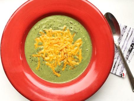 Brain Food: Vibrant Broccoli Soup