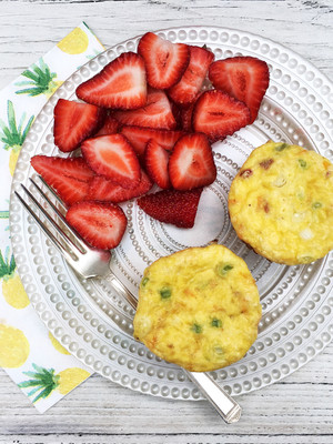 3 reasons to put protein on your breakfast plate   Protein-packed sweet potato and turkey muffin tin