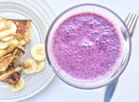 Real Food Fuel: Blueberry Blast Smoothie