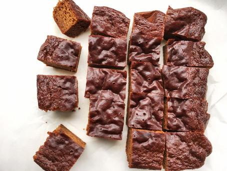 Super Moist Gingerbread Snack Cake
