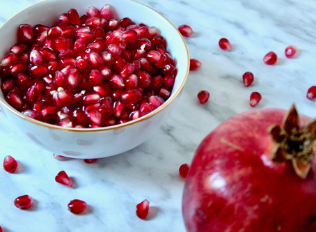 Super Benefits of Pomegranates {plus 5 ways to enjoy them}