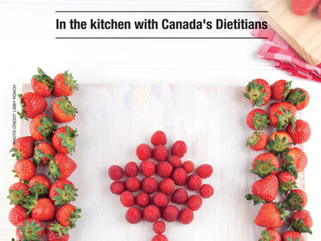 Celebrating Canadian Foods with a Dietitian Kitchen Party!