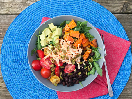How to Create a Power Bowl in 4 Simple Steps