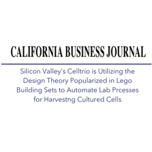 Silcon Valley's Celltrio is Utlizing Design Theory Popularized in Lego Series for Automation
