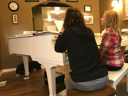 Lessons on the Grand Piano