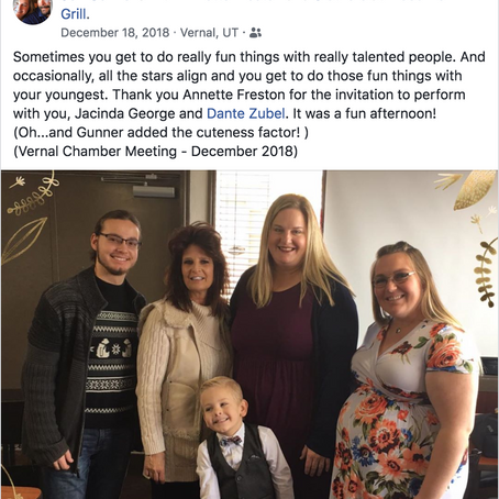 Incredible Opportunity to Share Music in Our Community - Thank you for posting, Jen!