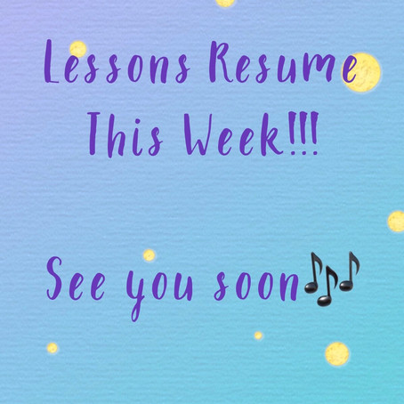 See you back at the studio this week students!