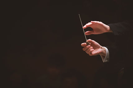 Conductor In Orchestra
