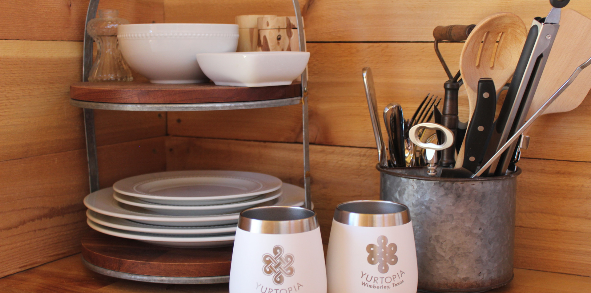 Yeti tumblers put the glamp in glamping
