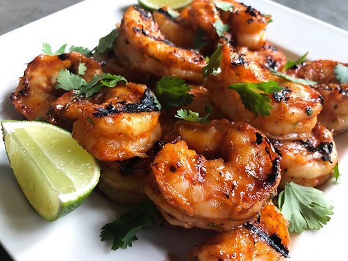 Grilled Shrimp for Two