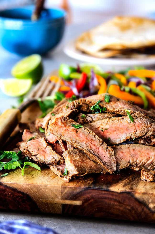 Steak Fajitas for Two