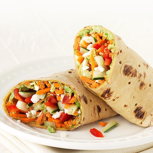 Chilled Seasonal Vegetable Wrap