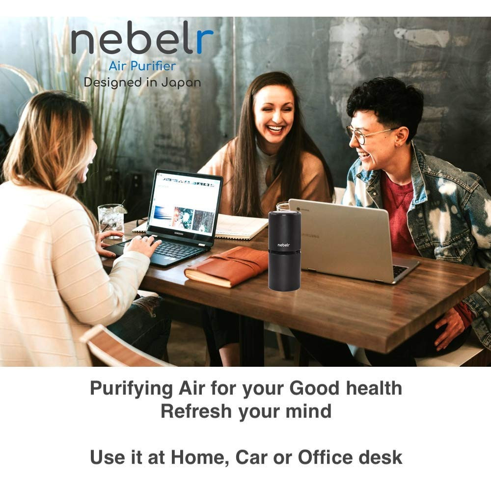 Stay Healthy with Nebelr Air Ionizer