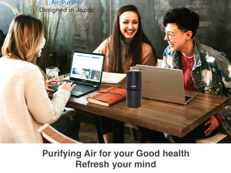 Nebelr Car Air Purifier Ionizer- Portable-Good for you &  your family