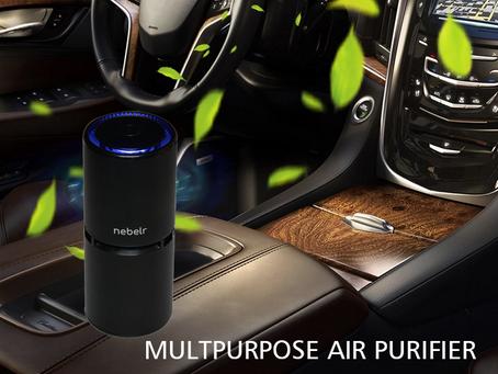 Nebelr Car Air Purifier Ionizer