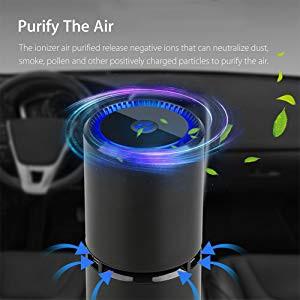 Nebelr Car Air Purifier Ionizer -Breath Fresh and Clean Air-How Do Negative Ions Work?