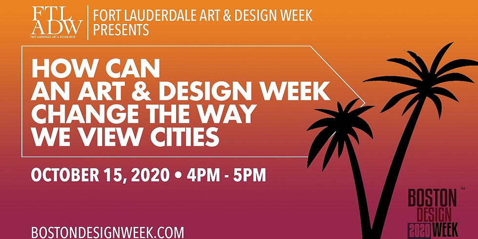 """""""How Can An Art & Design Week Change The Way We View Cities"""" Featuring Our Co-Founders As Part Of Boston Design Week!"""