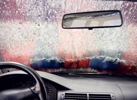 Clean Car Windows with Cornstarch and Vinegar