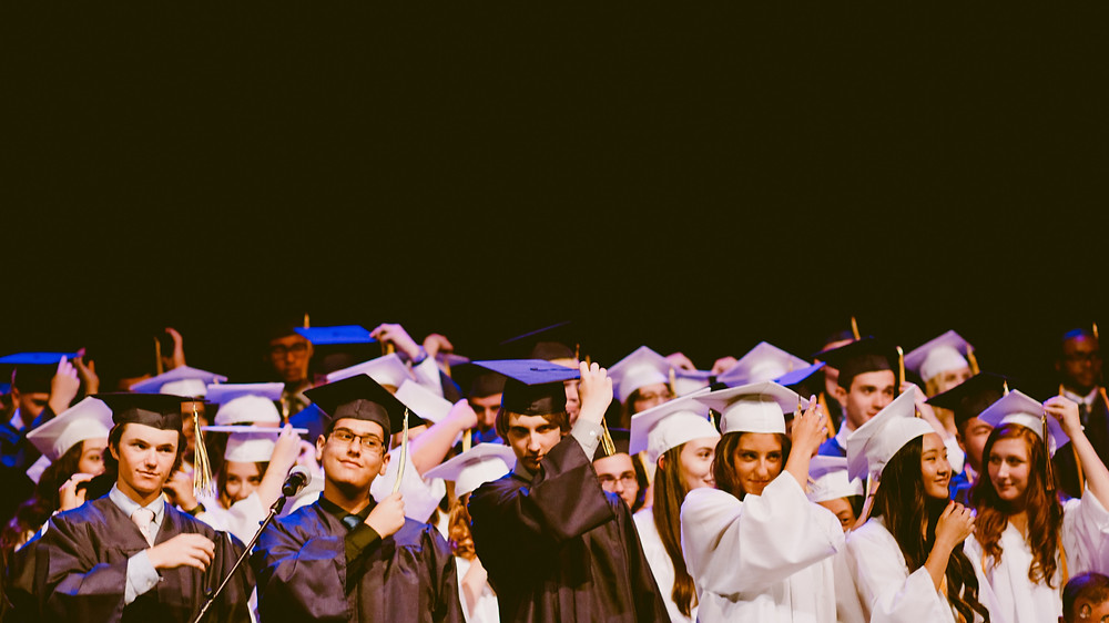Students graduate from high school, but do they have the skills to succeed in university? Photo credit: Caleb Woods