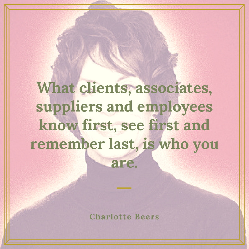 Charlotte Beers Quote