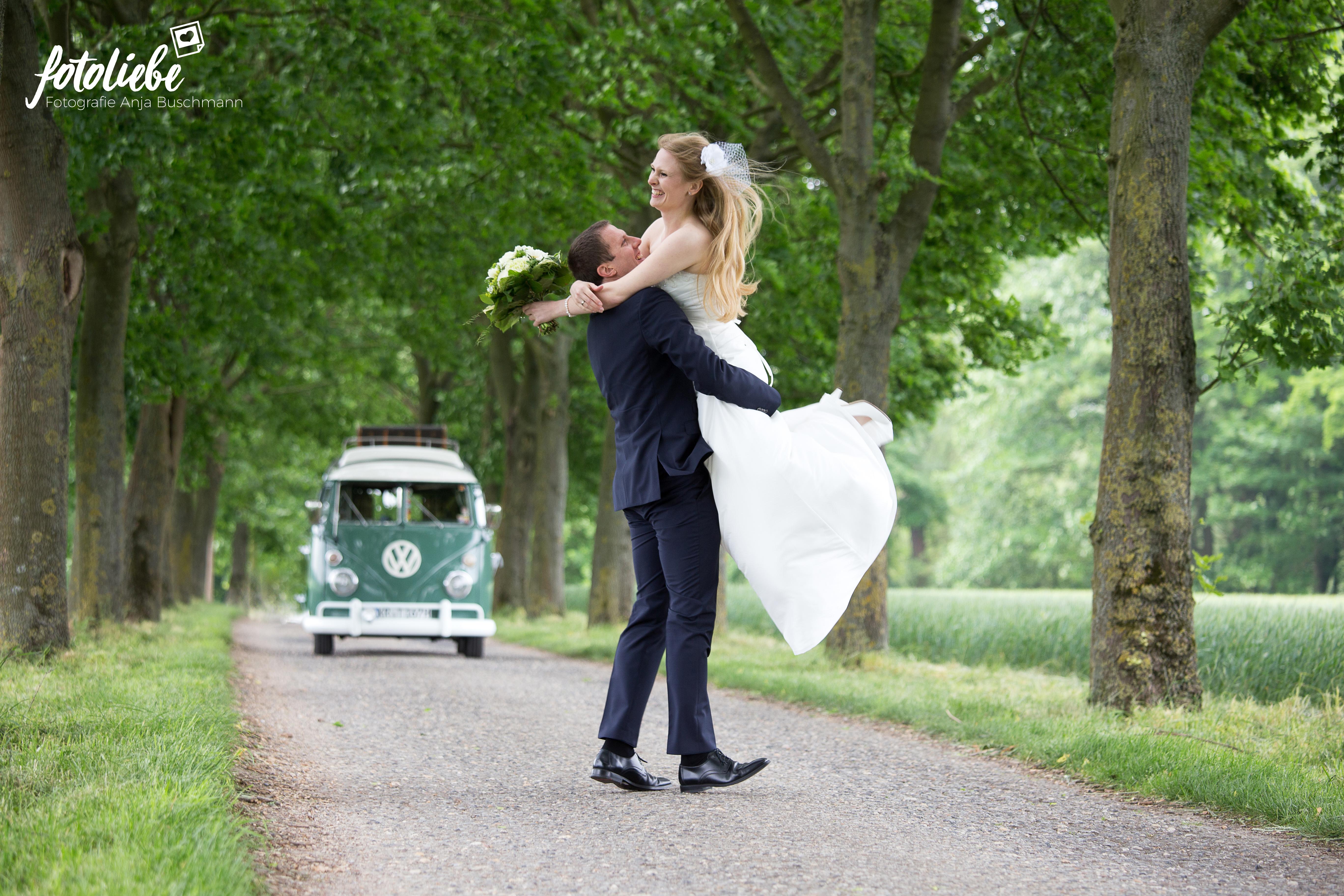 Hochzeitsfotografin Brautpaar