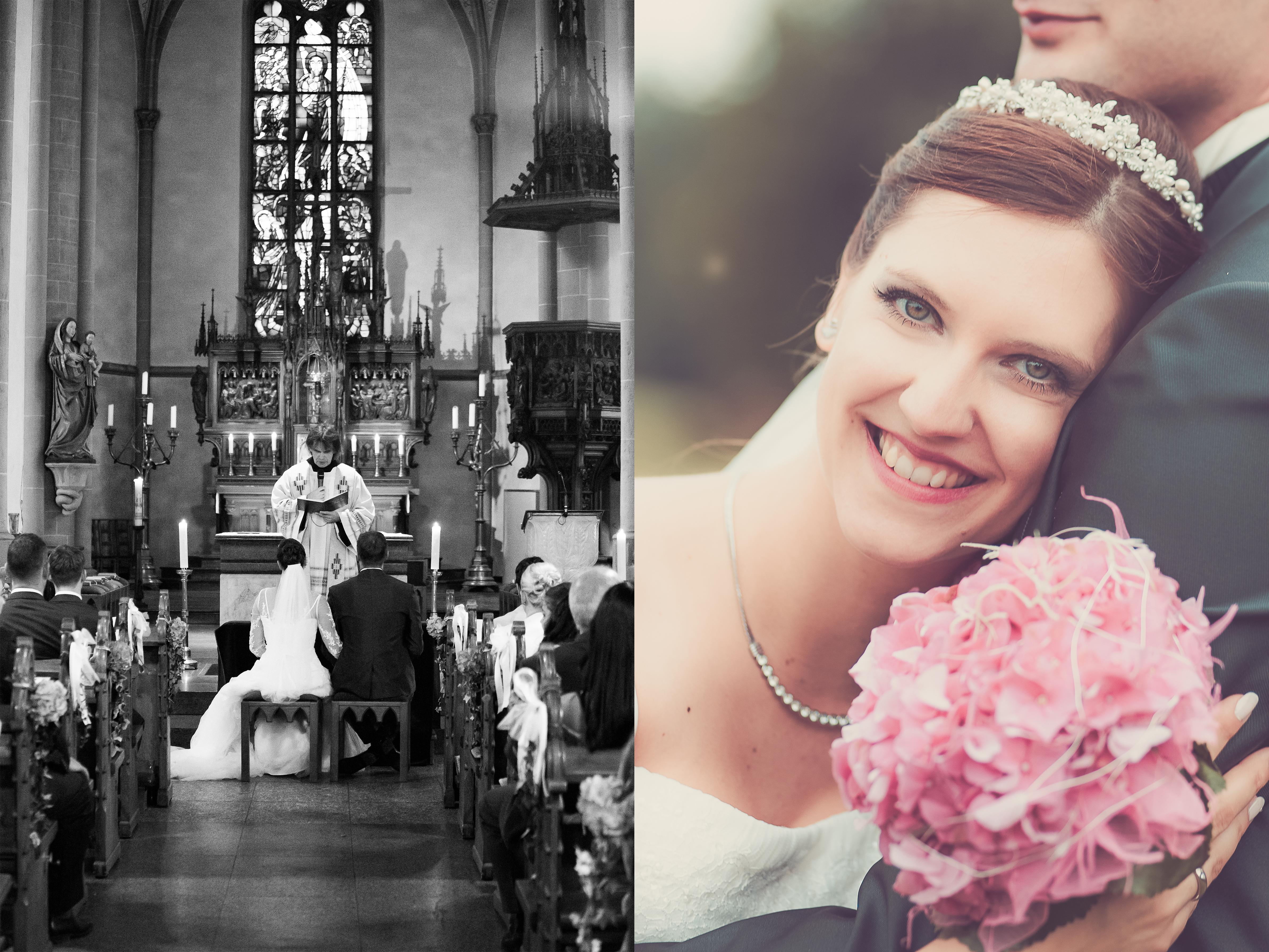Hochzeitspaar Kirche