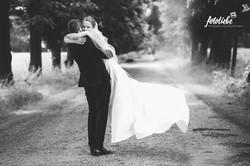 Brautpaar bei Schloß Linnep