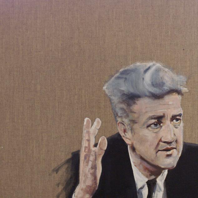 "David Lynch (""Are you shitting me Jack""), 2020"