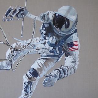 Ed White - America's first spacewalker, 2017.