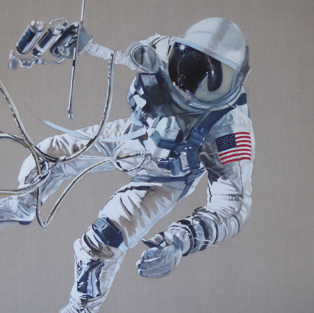 Ed White - America's first spacewalker, 2017.