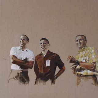 Apollo 8 (left to right: Jim, Bill and Frank), 2016.
