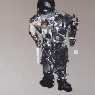 the fire (Astronaut White's flight suit), 2018.