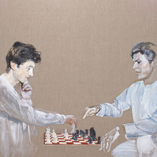 Peter Hammill and David Bowie (Fool's Mates), 2020.