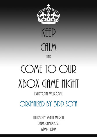 Xbox Games Night at Park Campus SU