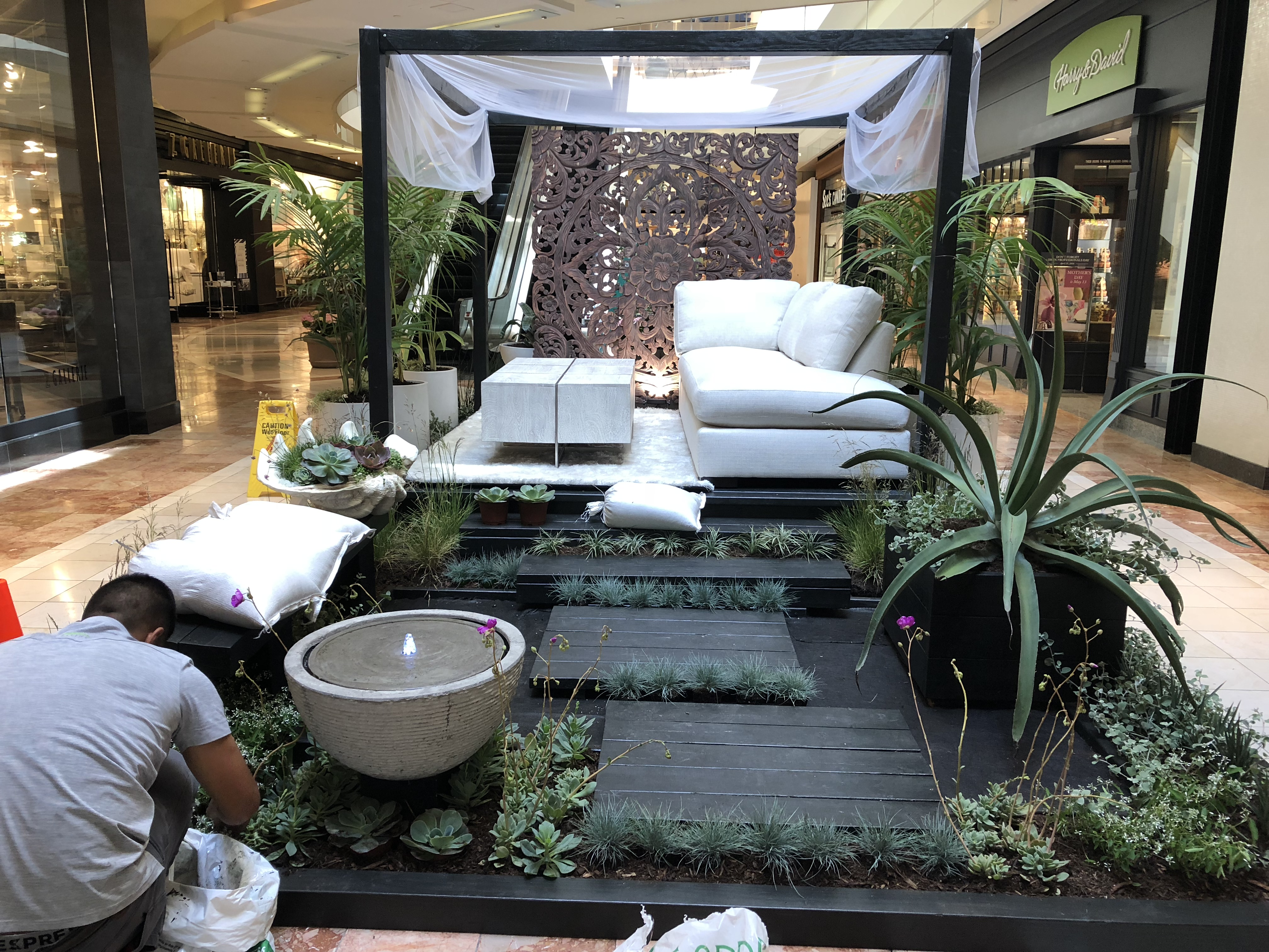SOUTH COAST PLAZA - GARDEN SHOW 2018