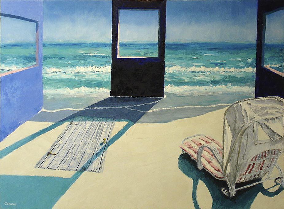 Beach and Chaise