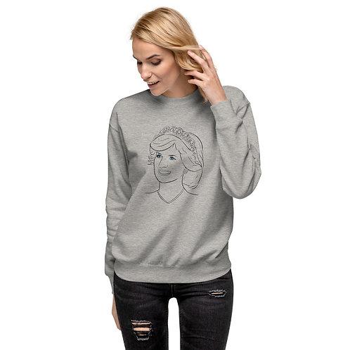 Princess Diana - Unisex Fleece Pullover