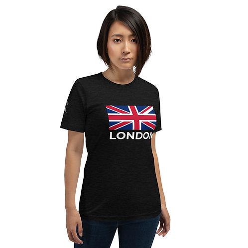 London Flag Dark - Short-Sleeve Unisex T-Shirt