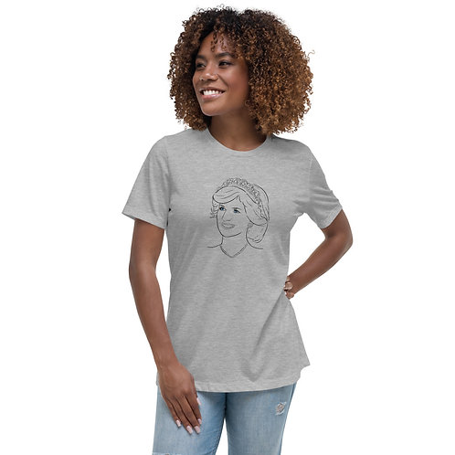 Princess Diana - Women's Relaxed T-Shirt