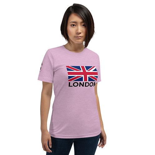 London Flag Light - Short-Sleeve Unisex T-Shirt copy