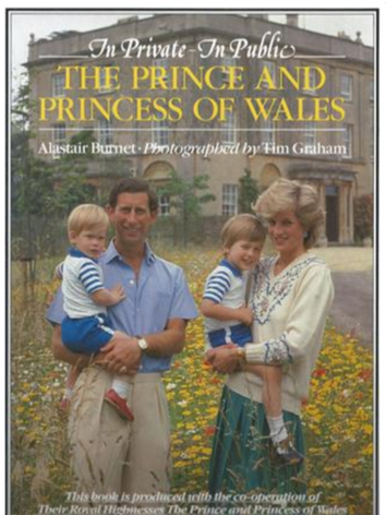 In Private, In Public - The Prince and Princess of Wales, by Alastair Burnet & Tim Graham