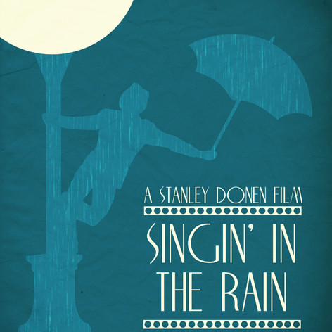"Movie poster for ""Singin' In The Rain"""