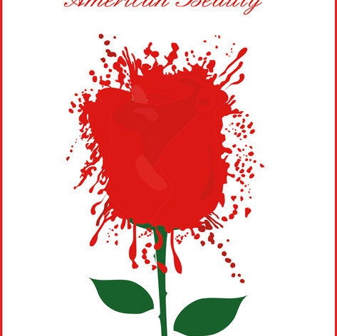"Movie poster for ""American Beauty"""