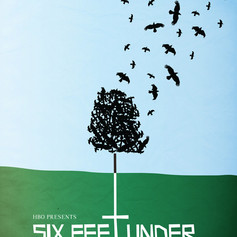 "TV Series poster for ""Six Feet Under"