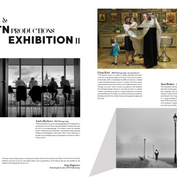 """Layout for article """"LCCA & ITN Productions Exhibitions II"""" for LCCA Magazine, London"""