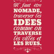 """Advertisement for cultural website """"L'Intermède"""""""