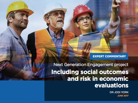 Including social outcomes and risk in economic evaluations of impact projects